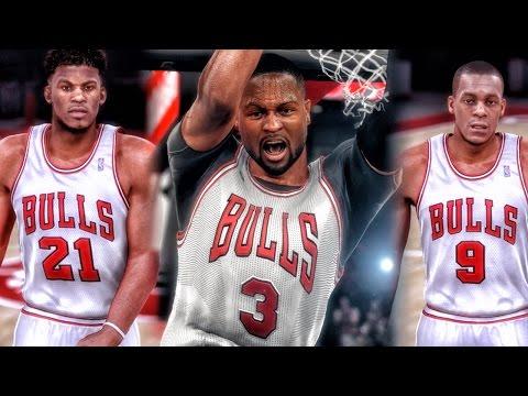 DWYANE WADE JOINS THE BULLS! NBA 2k16 My Team