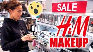 $1 H&M MAKEUP ... THAT'S ACTUALLY GOOD!