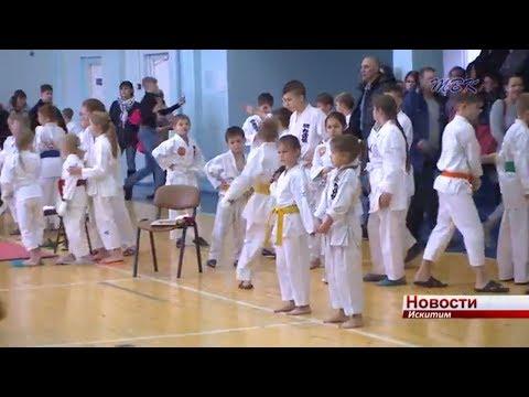 Две золотые медали уступили искитимские каратисты барнаульцам и заняли второе место в областном чемпионате