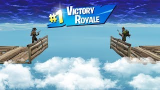 We both built Stairway's to Heaven to see who would last longer.... and we WON the Game!