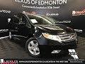 Used Black 2012 Honda Odyssey Touring Walkaround Review Ponoka Alberta