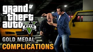 GTA 5 Mission #3 Complications [100% Gold Medal