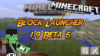 Block Launcher Pro 1.9 Beta 6 Minecraft PE 0.11.0 Build
