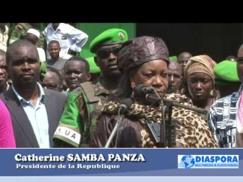 CATHERINE SAMBA PANZA Parle en arabe a la mosquée Centrale KM5