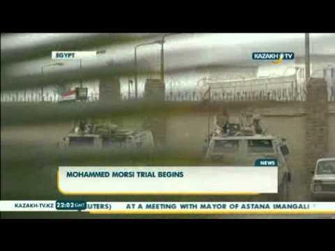 Mohammed Morsi trial begins