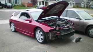 How To Remove Eclipse Gsx Front Bumper & Install X-tune