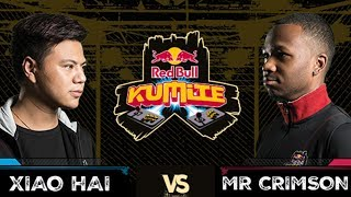 Red Bull Kumite 2017: Xiao Hai vs  Mr Crimson | Losers Round 1