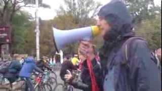 """Protest: """"Vrem piste pentru biciclişti!"""""""