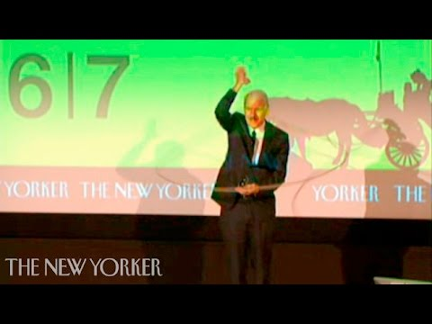 Steve Martin on stand-up comedy- The New Yorker Festival