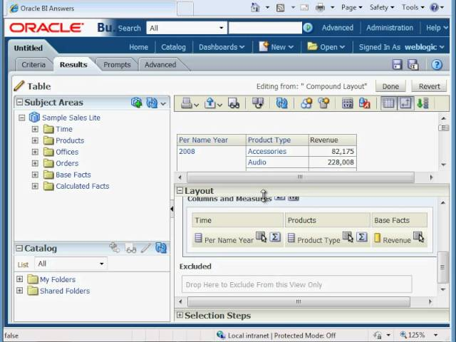 OBIEE Training - How to Create an OBIEE 11g Analysis