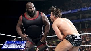 Mark Henry Vs. The Miz: SmackDown, March 28, 2014