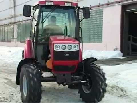 Official video of JSC BZTDiA. vol.3. Small tractor Belarus (eng)