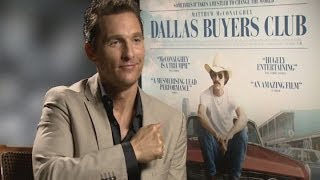 Matthew McConaughey On His Chest Beating In The Wolf Of