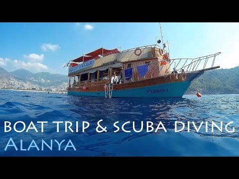 TURKEY: Alanya boat trip & scuba diving [HD]