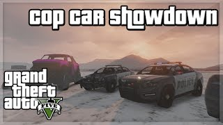 GTA V - 'Cop Car Showdown!'' w/ Behzinga, Miniminter, Vikkstar, Zerkaa & KSI