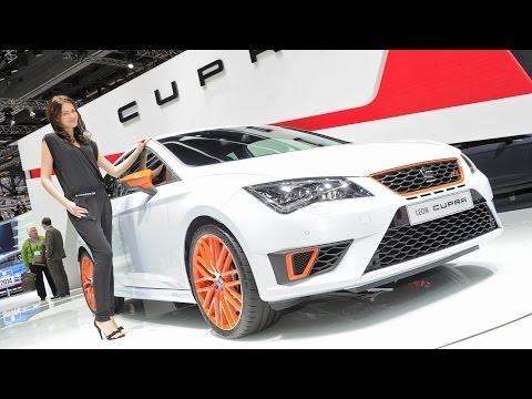 Genfer Autosalon 2014: Seat stellt seinen Hochleistungsportler Leon Cu