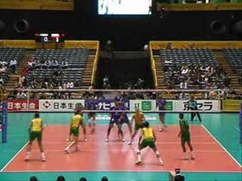 Brazilian Volleyball Mix, Brazil playing in world champs 06