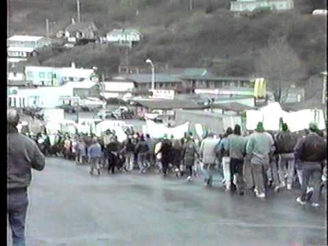 Exxon protest march, Kodiak 5-26-89