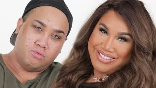 FROM TRADE TO BABE MAKEUP TUTORIAL | PatrickStarrr