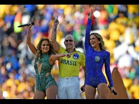 Pitbull ft. Jennifer Lopez & Claudia Leitte - We Are One (Ole Ola) LIVE fro ...