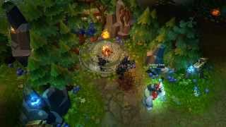 Kog'Maw [Q] and Jungle Monster Heal new particles - League of Legends