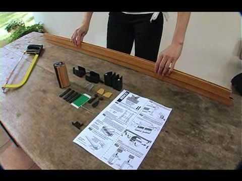 Instalaci n mosquitera enrollable vertical brico heyac - Como hacer una mosquitera ...