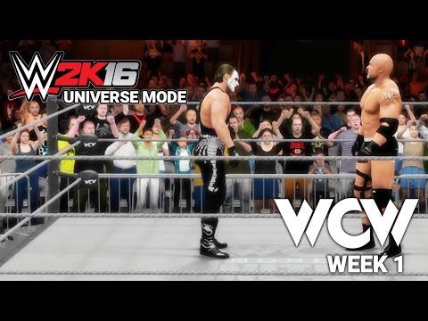 WCW, Back From the Dead! [WWE 2K16 - WCW Monday Nitro - Week 1]