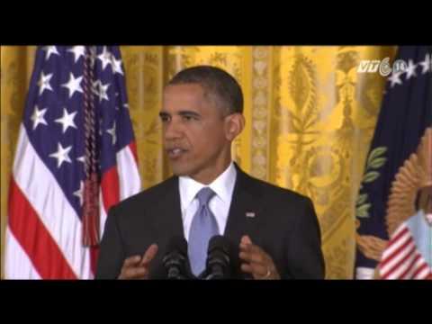 VTC14_Tổng thống Hoa Kỳ tuyên bố xem xét lại chương trình giám sát gây tranh cãi