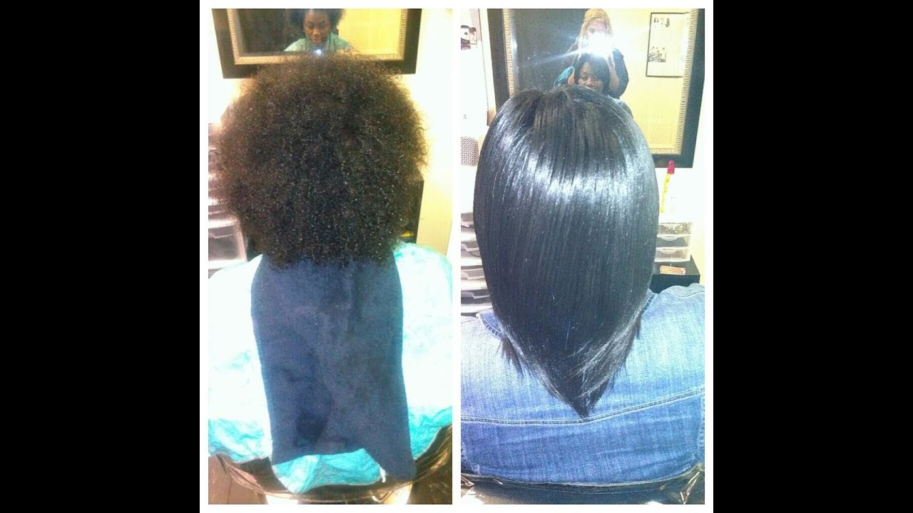 A Dominican Blowout On Natural Hair