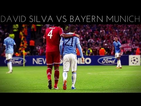 David Silva vs Bayern Munich (H) 2013-2014 UCL HD