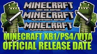 Minecraft Xbox One, Minecraft PS4 & Minecraft PS Vita