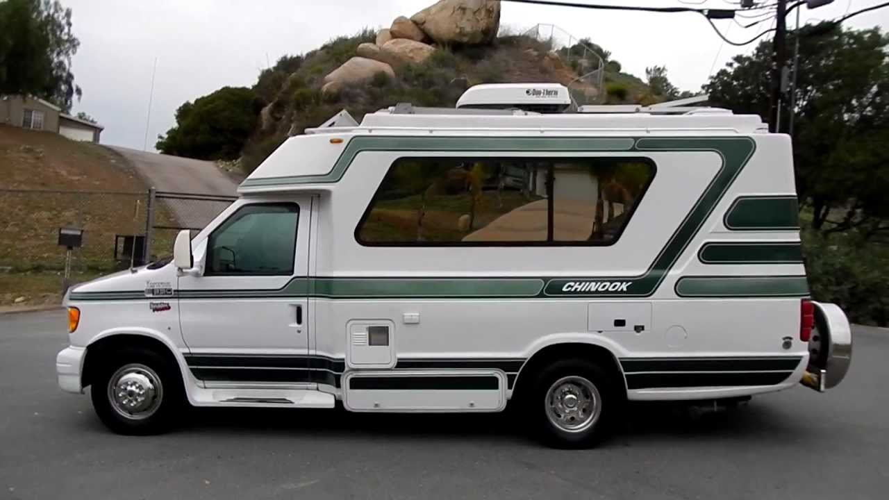 Chinook Concourse Rv Motorhome Class C Or B Solar Powered