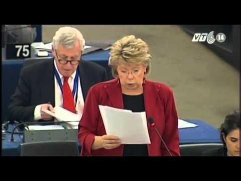 VTC14_Nghị viện châu Âu đề nghị Mỹ