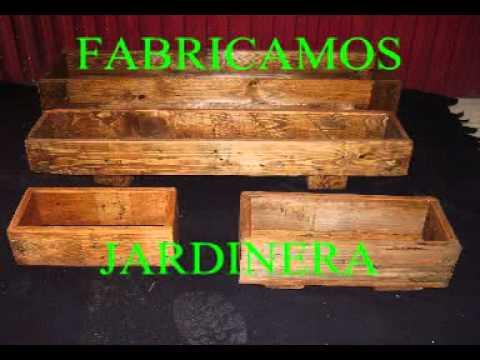 Muebles hechos con madera de youtube for Muebles hechos de palets