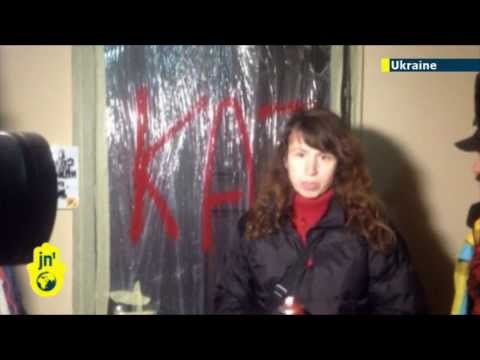 Battle for Ukraine: Savage attack on female opposition journalist enrages EuroMaidan protesters