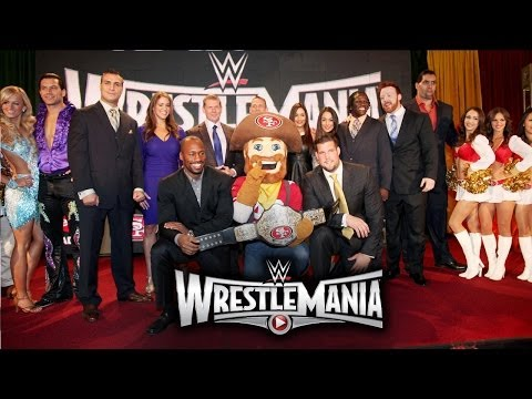 WrestleMania 31  Press Conference Highlights
