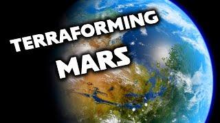 'Realistically' Terraforming Mars in Universe Sandbox 2