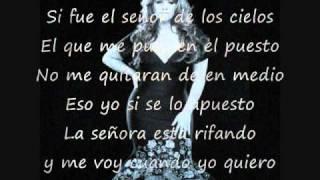 Jenni Rivera- Los Ovarios