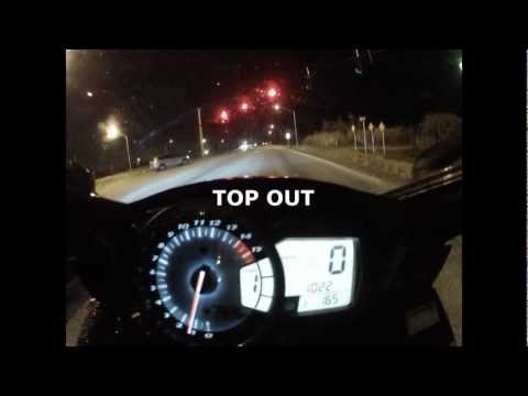 Suzuki GSXR-1000 TOP SPEED Runs (186 mph) &amp; Acceleration - Clearin' It