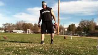 [Kicking World Trick Shot Field Goal Kicker] Video