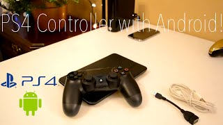 PS4 DualShock 4 On Android W/Emulators!