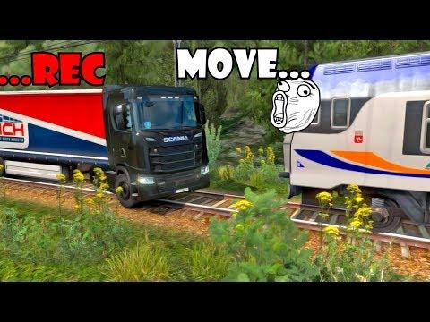 ETS2 MP FAILS & WINS #4 | Euro Truck Simulator 2 Funny Moments Compilation |