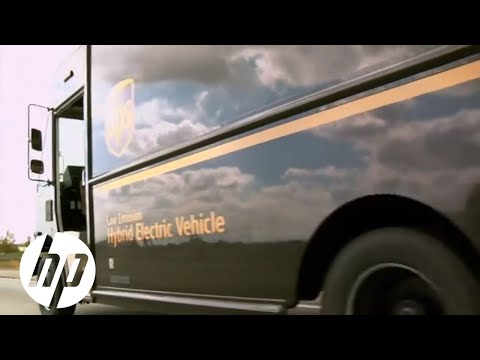 HP Enterprise Customer Story: UPS; Innovation, Efficiency, and Sustainability. Converged.