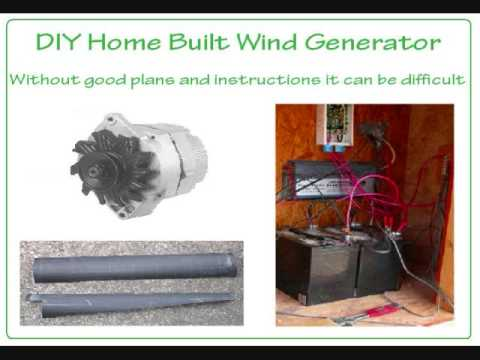 How To Build A Wind Generator - DIY Turbine Plans - YouTube