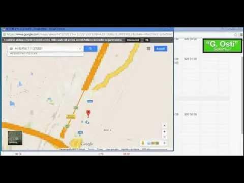 JuniorWEB timbratura con smartphone per dipendenti fuori sede e rilevamento posizione Google Maps