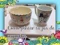 pintar tazas de ceramica,cristal/painted ceramic cups