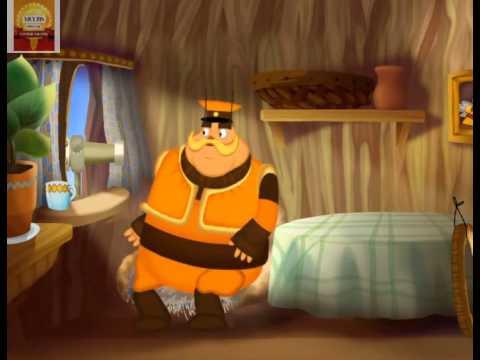 Học tiếng Nga qua phim hoạt hình Лунтик tập 6 Внук