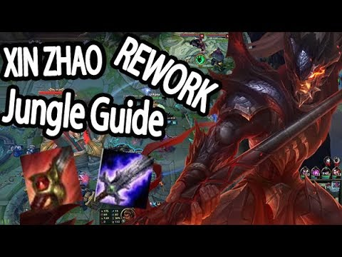 XIN ZHAO REWORK JUNGLE GUIDE GERMAN | Season 7 Lol