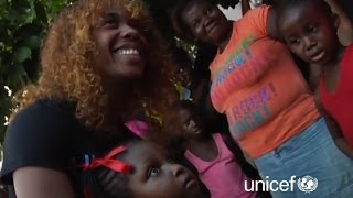A Day of Hope with Star Athlete Shelly-Ann Fraser-Pryce and UNICEF