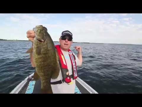 Giant Lake Ontario Jerkbait Smallmouth with Brandon Palaniuk - Dave Mercer's Facts of Fishing